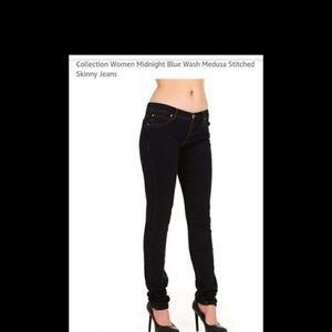 Versace Collection skinny jeans. Size 28.